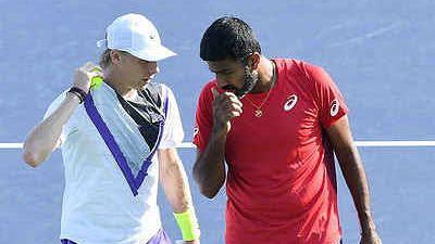 US Open: बोपन्ना-शापालोव की जोड़ी दूसरे राउंड में, एक घंटे 22 मिनट चला मुकाबला
