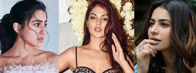 ड्रग केस में रिया चक्रवर्ती का खुलासा, सारा खान और रकुल समेत बी टाउन के 25 बड़े सितारे शामिल!