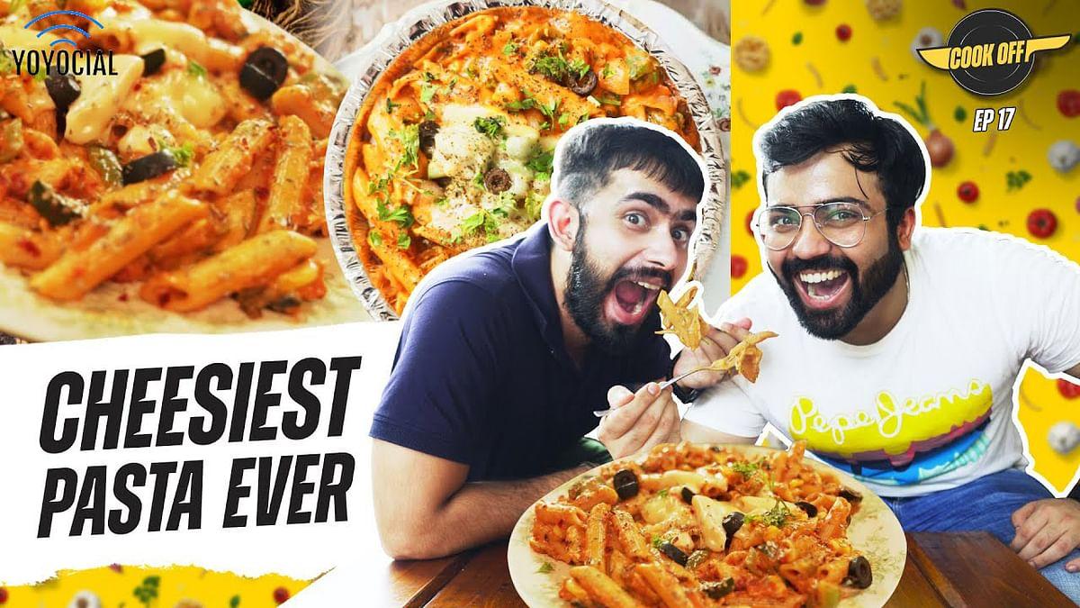 Desi Pasta Cooking Challenge at Billu's Hut | [Cook Off#17] 