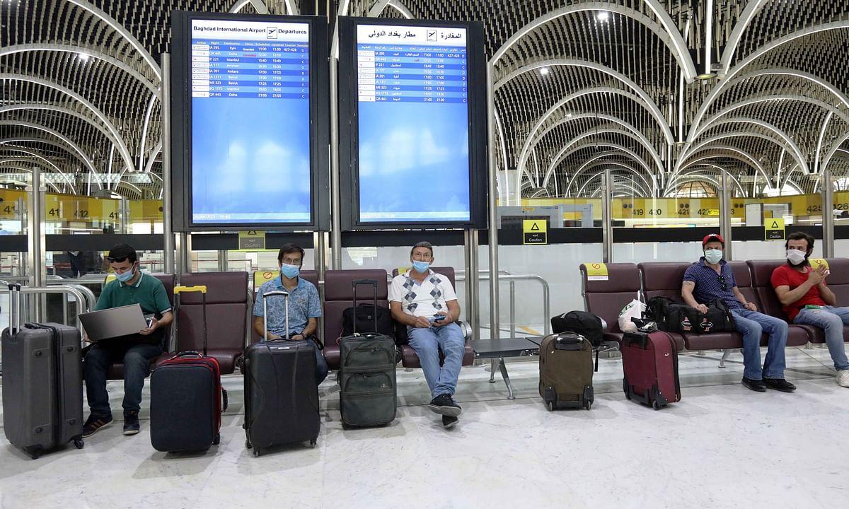 कोरोनावायरस के बढ़ते मामलों के बीच इराक ने विदेशी यात्रियों के प्रवेश पर लगाया प्रतिबंध