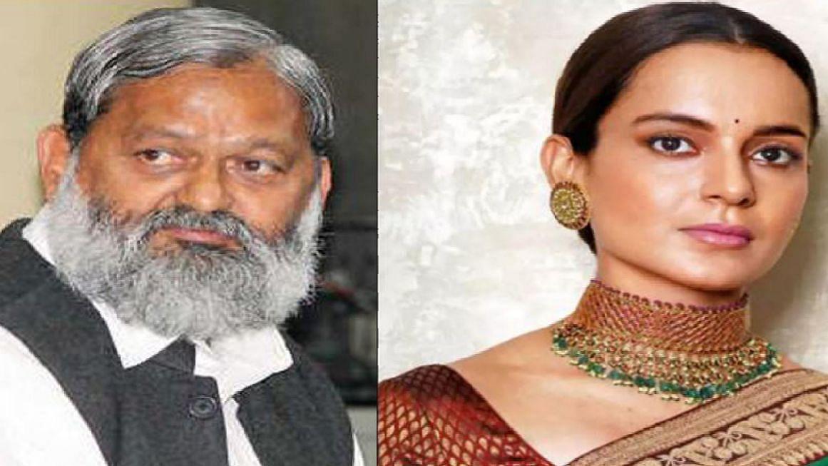 कंगना रनौत की आलोचना करने वालों पर जमकर बरसे हरियाणा के गृहमंत्री, कहा- मुंबई किसी के बाप की जागीर नहीं