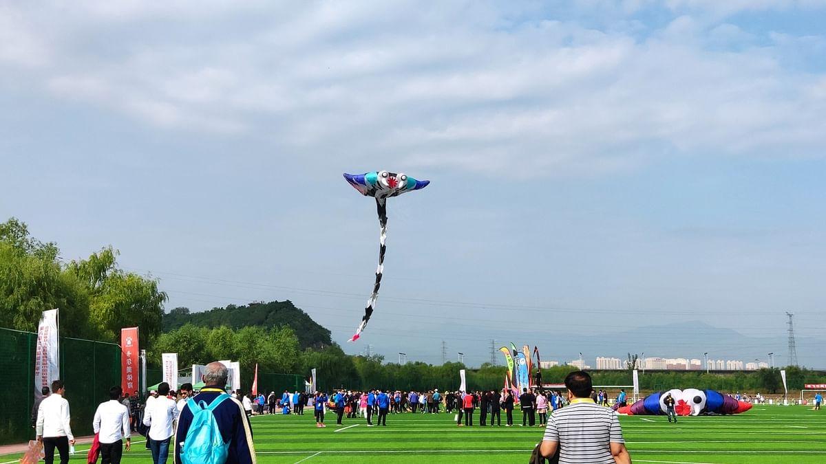 चीन में मनाया गया अंतर्राष्ट्रीय पतंग महोत्सव