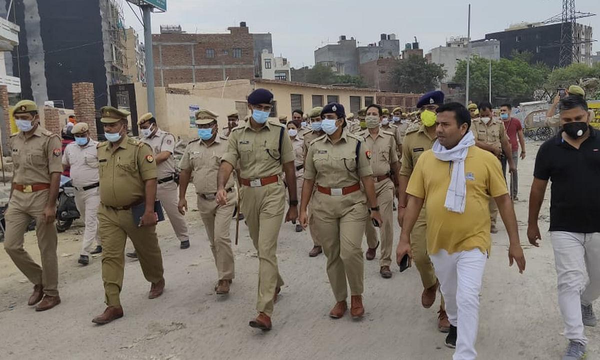 गौतमबुद्धनगर : तीन जिलों की पुलिस ने चलाया 'ऑपरेशन प्रहार', हिरासत में 27 संदिग्ध
