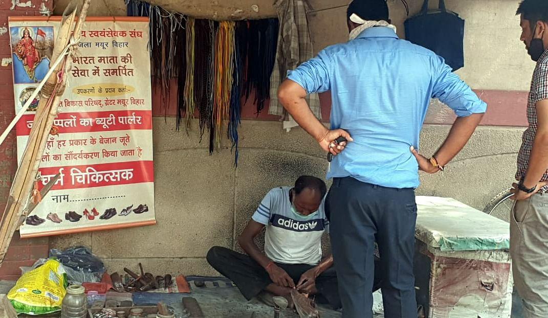 RSS ने दिल्ली में खुलवाए जूते-चप्पल के ब्यूटी पार्लर, मोचियों को मिला रोजगार