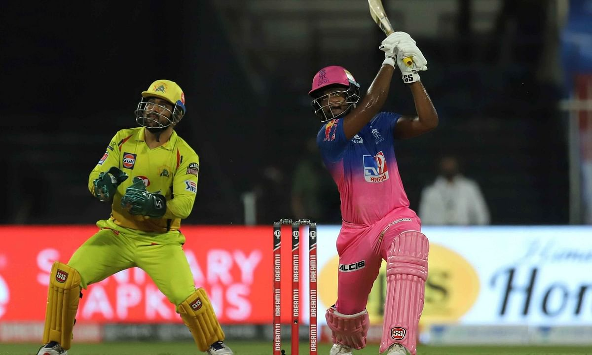 IPL-13: संजू सैमसन की तूफानी पारी से राजस्थान रॉयल्स जीता, चेन्नई सुपर किंग्स को 16 रनों से हराया
