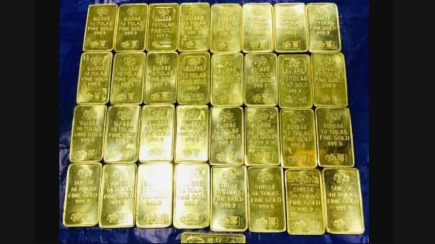 लखनऊ एयरपोर्ट पर दो दिन में करीब 4 किलो से ज्यादा सोना जब्त, छुपाने के लिए यात्री ने लगाई थी ये जुगत...