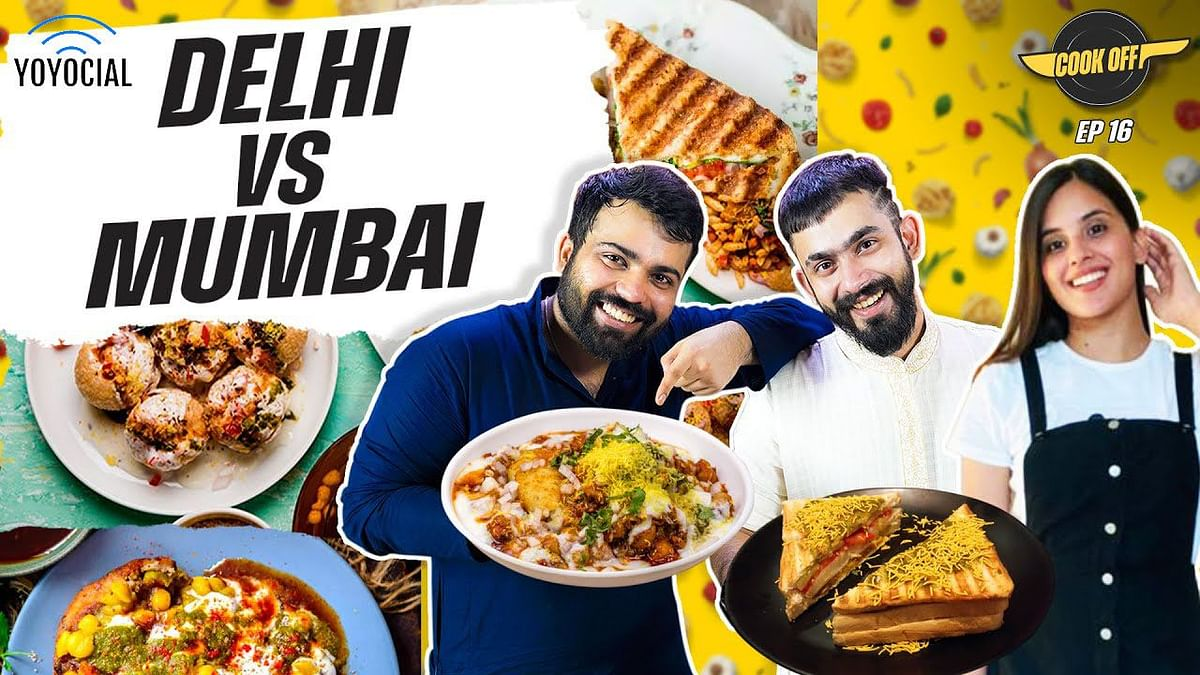 Delhi vs Mumbai Street Food Cooking Challenge | Aloo Tikki vs Bombay Sandwich | [Cook Off#16] 