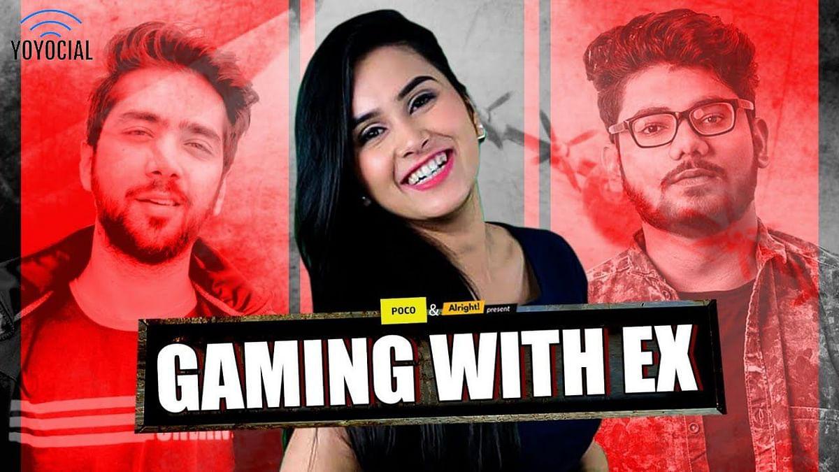 Alright  Gaming With Ex | Ft. Anushka Sharma, Alpha Clasher & Ritik Ghanshani