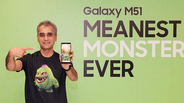 Samsung ने 'Monster' बैटरी के साथ Galaxy M51 भारत में लॉन्च किया