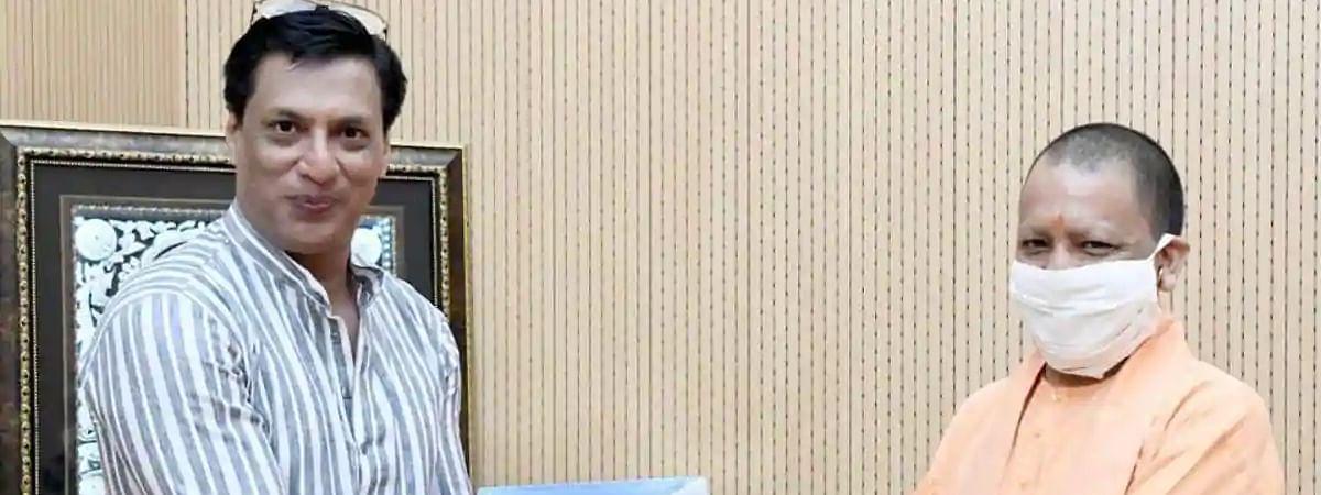 मधुर भंडारकर ने की सीएम योगी से मुलाकात, फिल्म सिटी पर हुई चर्चा