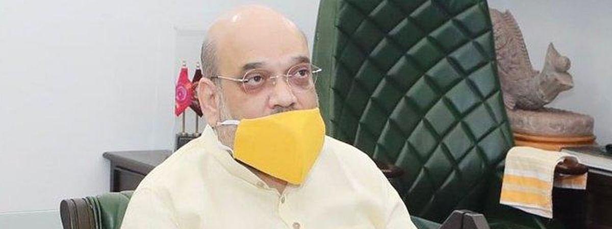 कोविड से उबरने के बाद गृहमंत्री अमित शाह ने नॉर्थ ब्लॉक में की पहली समीक्षा बैठक