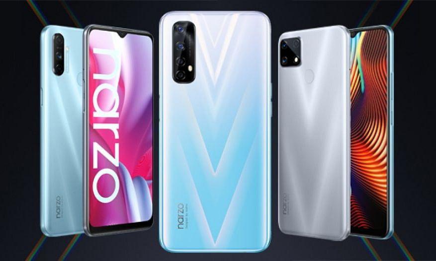 Realme ने Narzo सीरीज के तहत भारत में 3 स्मार्टफोन लॉन्च किया