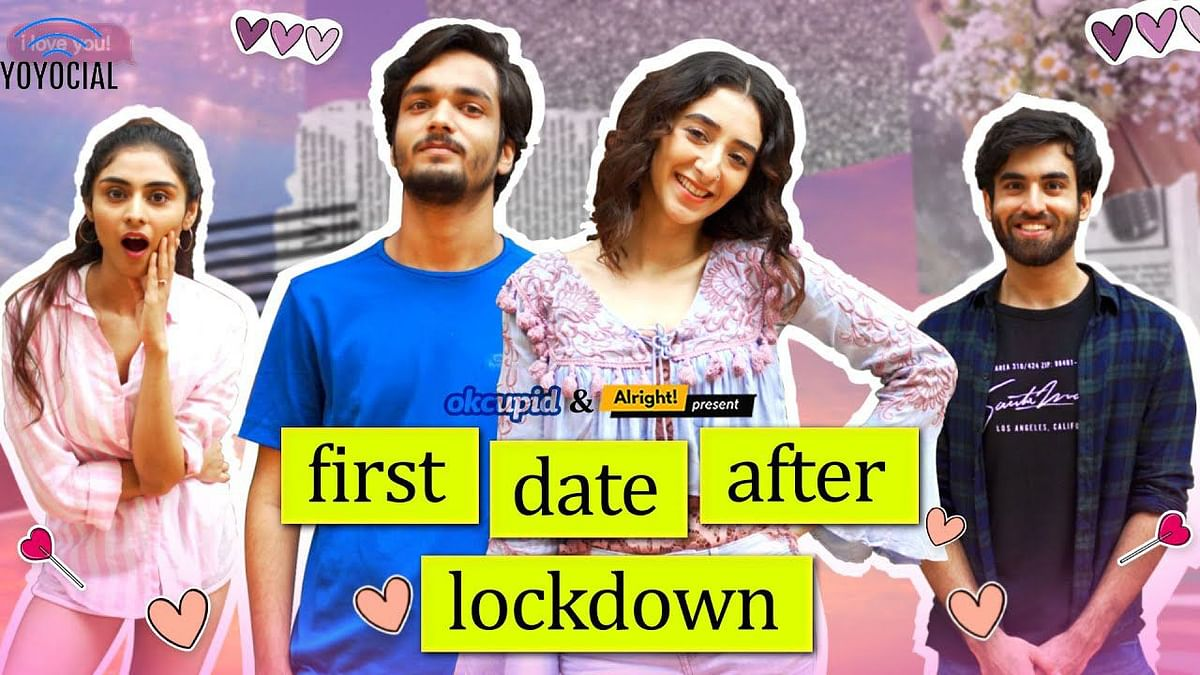 Alright First Date After Lockdown | Ft. Kritika Avasthi, Parikshit Joshi & Abhishek Kapoor