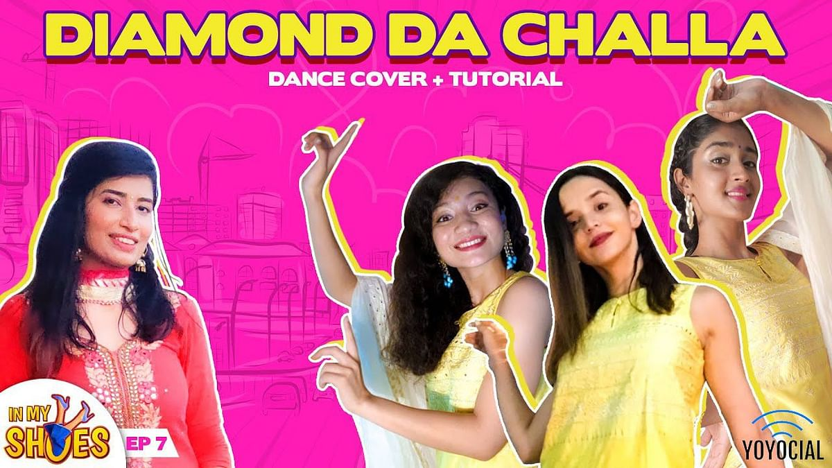 Diamond Da Challa Choreography | Cherry Bomb ft. Isheeta Yadav | In My Shoes Ep#07