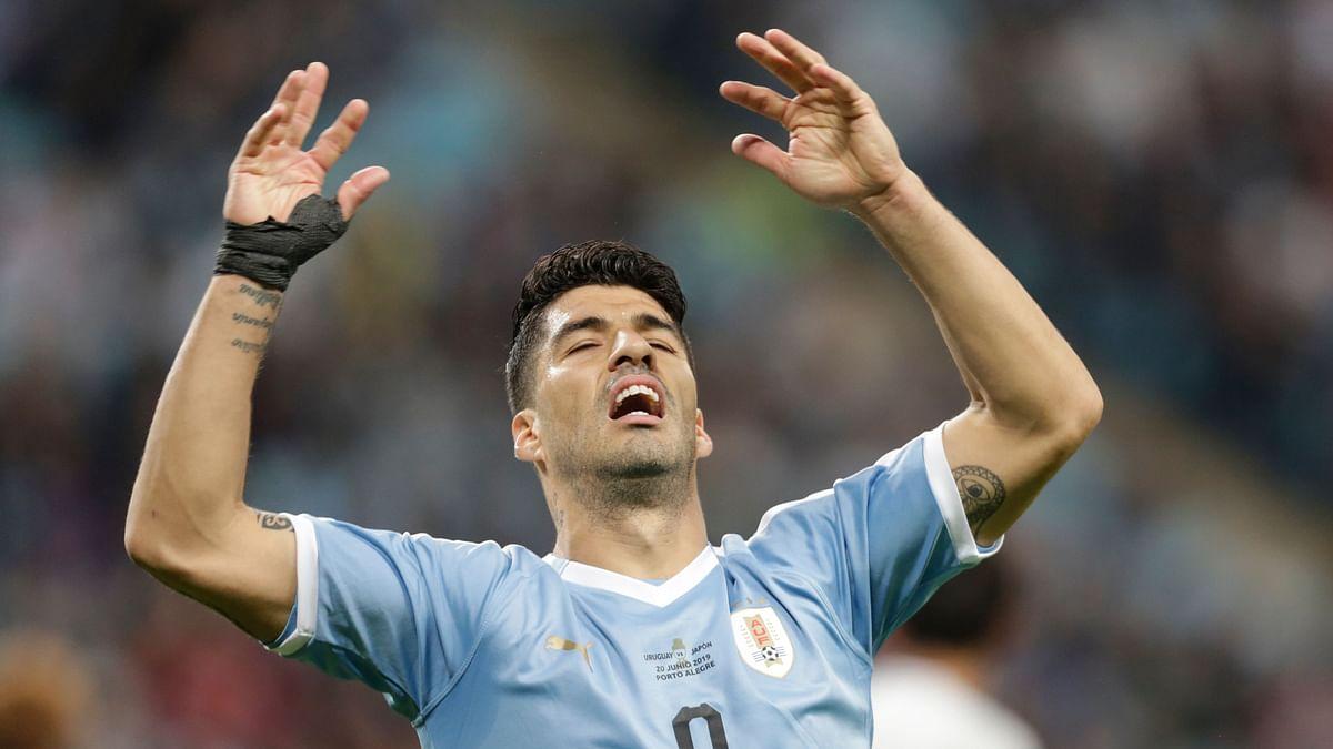 FIFA World Cup Qualifiers के लिए सुआरेज उरुग्वे टीम में शामिल