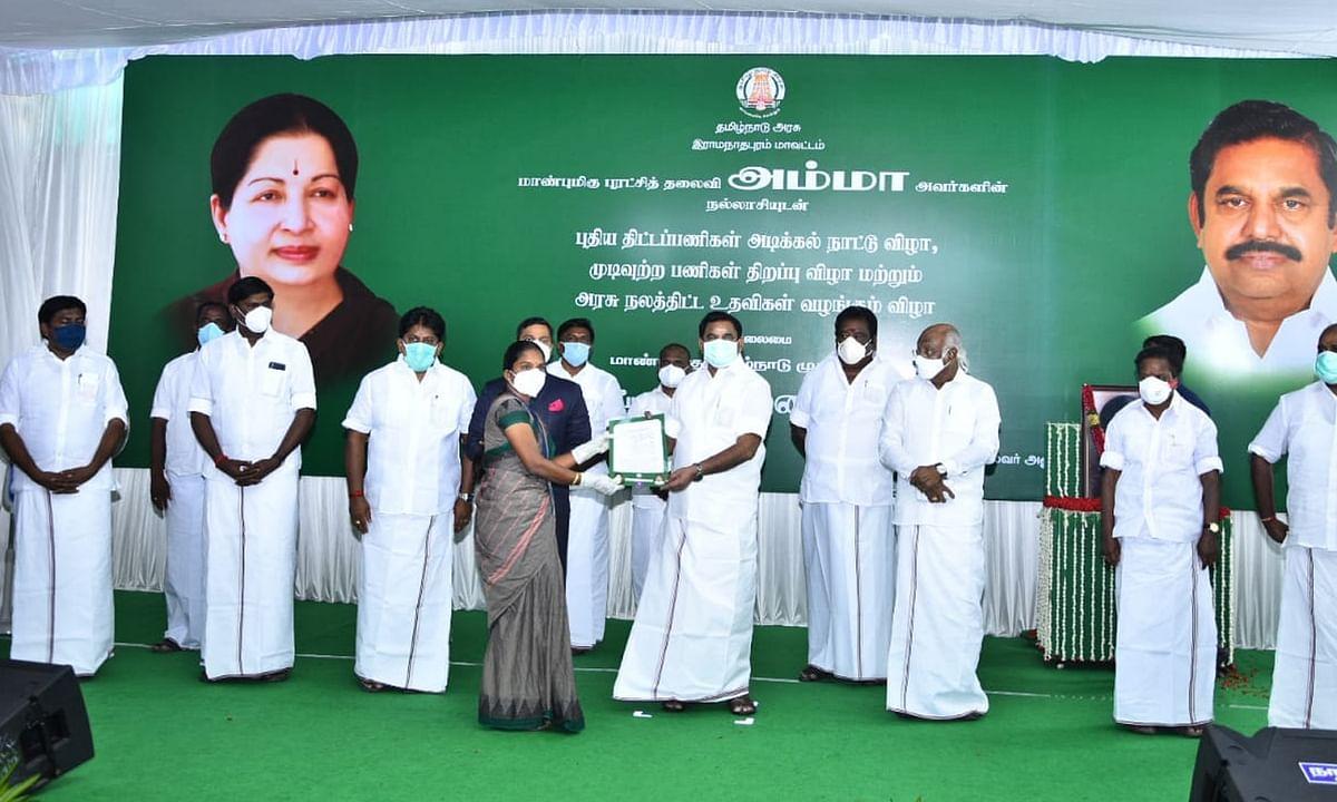 तमिलनाडु के मुख्यमंत्री ने गलवान में शहीद हुए पलानी की पत्नी का ऐसे किया आभार व्यक्त...
