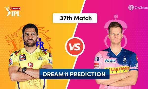 IPL-13: चेन्नई सुपर किंग्स और राजस्थान रॉयल्स आज आमने-सामने, हर हाल में दोनों टीमों को चाहिए जीत