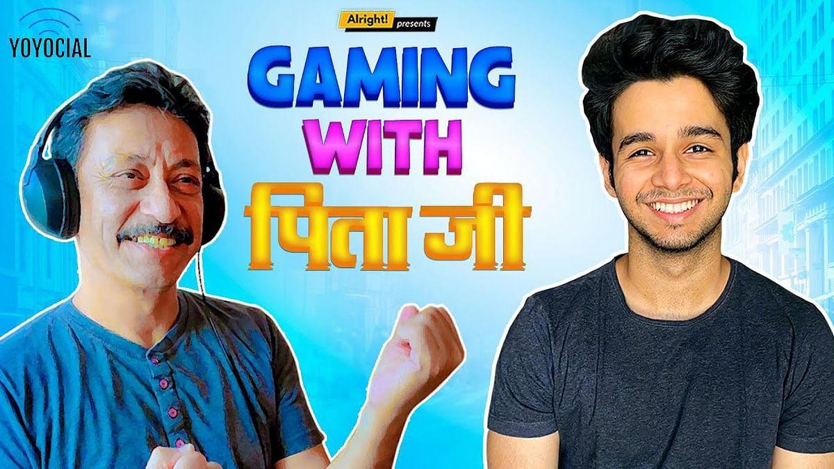 Alright! | Gaming with पिता जी | Ft. Ritvik Sahore & Purnendu Bhattacharya
