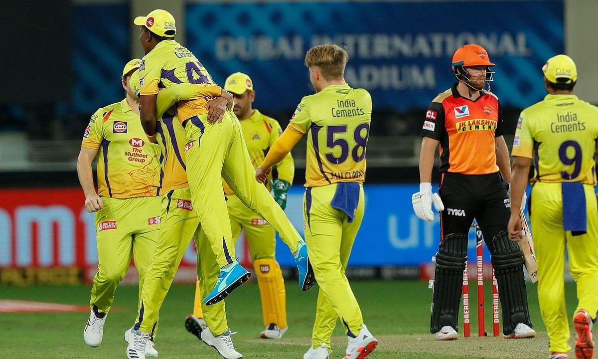 IPL-13: चेन्नई सुपर किंग्स ने सनराइजर्स हैदराबाद को 20 रनों से हराया