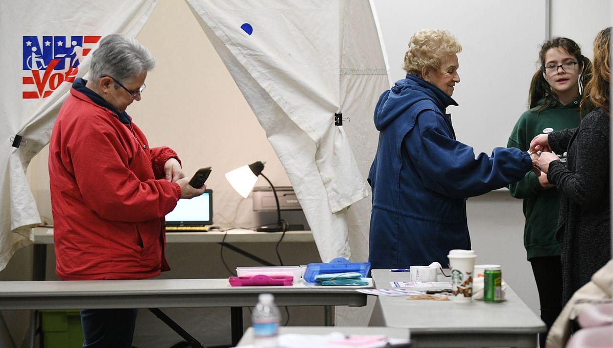 न्यूयॉर्क राज्य में राष्ट्रपति चुनाव के लिए शुरू हुआ मतदान