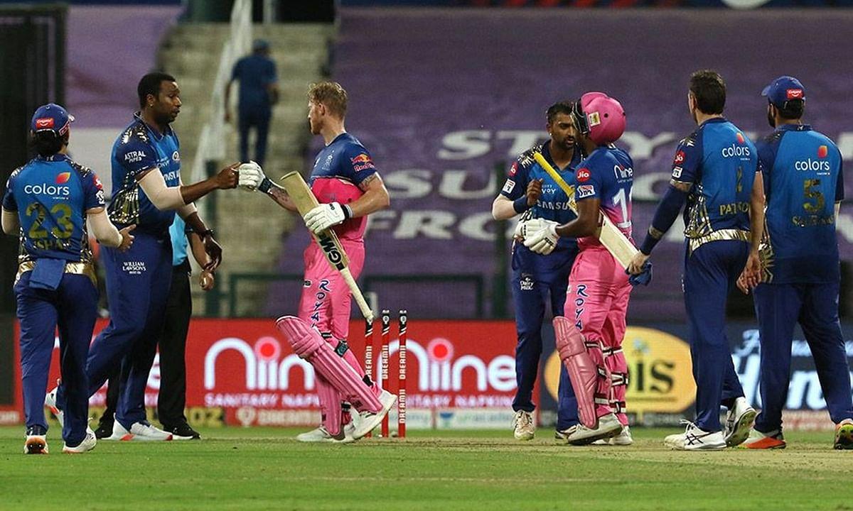 IPL-13: बेन स्टोक्स की शतकीय पारी से जीता राजस्थान रॉयल्स, मुंबई इंडियंस को 8 विकेट से हराया