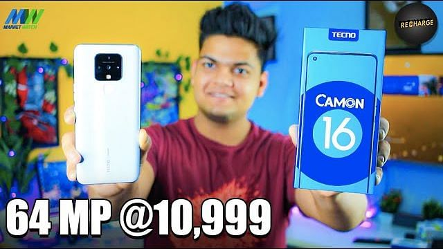 Tecno Camon 16 Unboxing | 64MP Camera with 16MP Eye AutoFocus