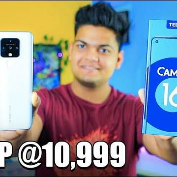 Tecno Camon 16 Unboxing | 64MP Camera with 16MP Eye AutoFocus
