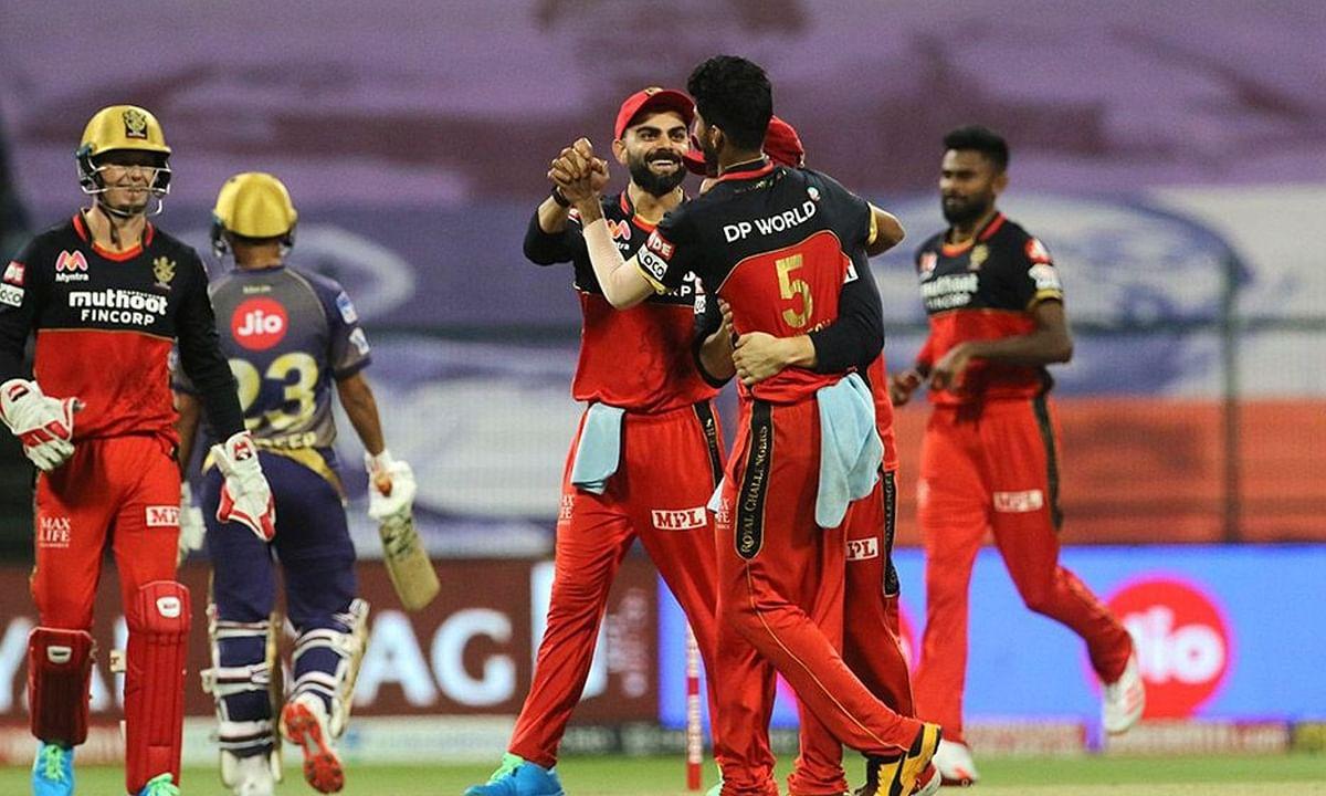 IPL-13: रॉयल चैलेंजर्स बैंगलोर ने कोलकाता नाइट राइडर्स को 8 विकेट से हराया