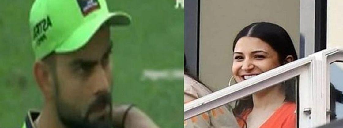 IPL-13: मैच के बीच विराट कोहली ने अनुष्का से इशारों में पूछा- 'खाना खाया', एक्ट्रेस ने दिया कुछ ऐसे जवाब..