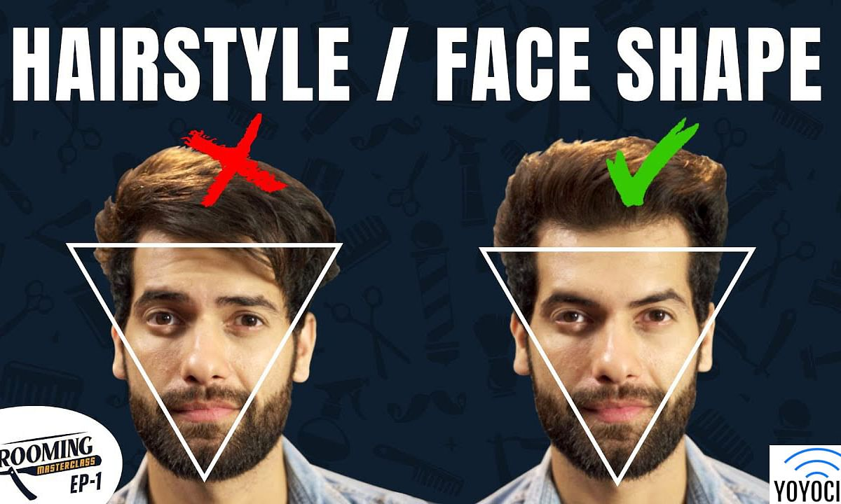Best Hairstyle For Your Face Shape | Grooming Masterclass Ep1