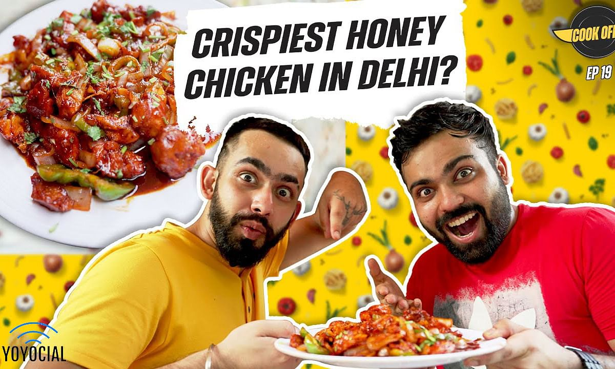Crispy Honey Chicken Cooking Challenge at Dragon Hut | [Cook Off#19] ​