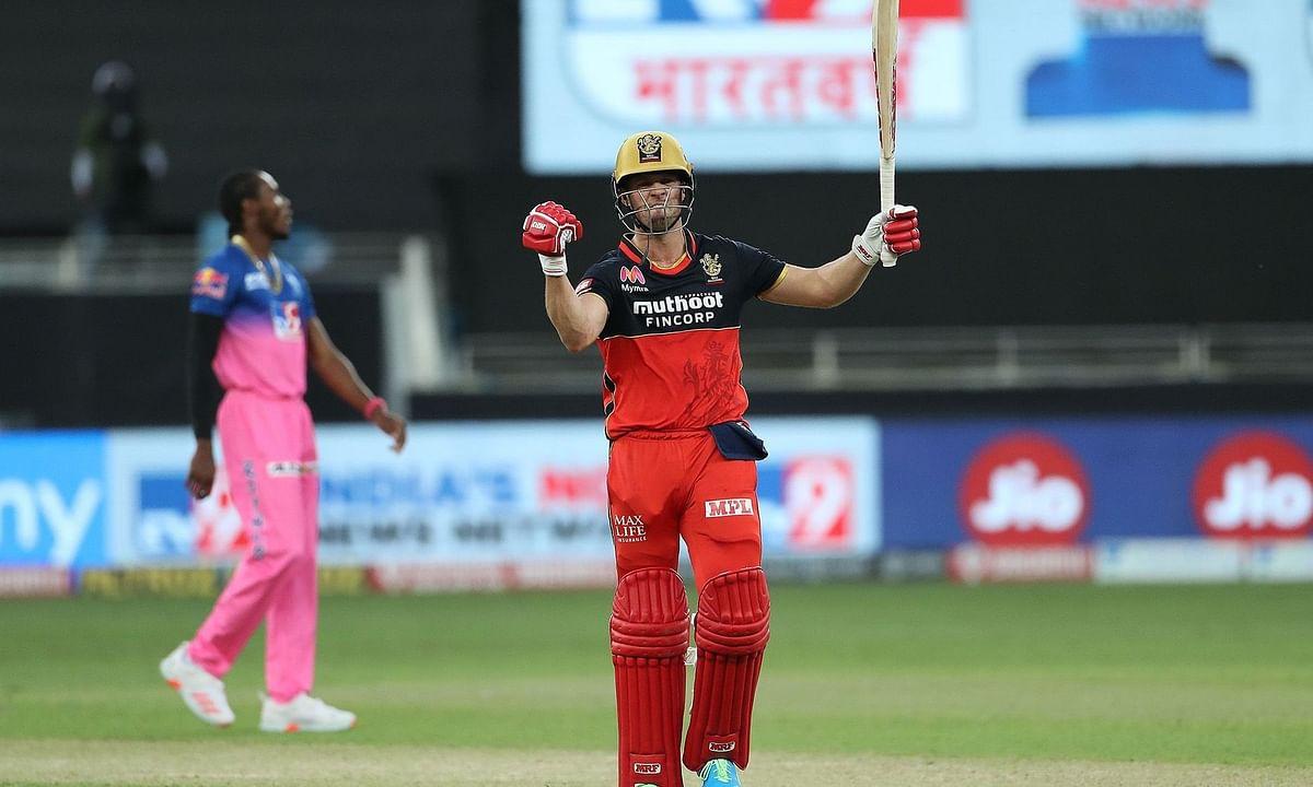 IPL-13: एबी डिविलियर्स से हारा राजस्थान रॉयल्स, मात्र 22 गेंद में अर्धशतक जड़ रॉयल चैलेंजर्स बैंगलोर को दिलाई जीत