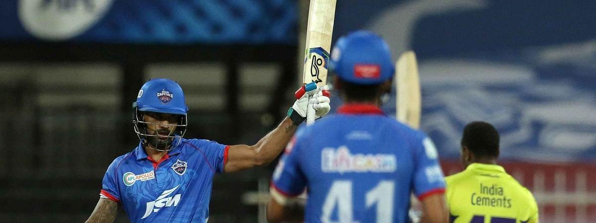 IPL-13: शिखर धवन की शतकीय पारी से जीता दिल्ली कैपिटल्स, चेन्नई सुपर किंग्स को 5 विकेट से हराया