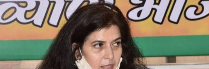 कांग्रेस, राजद के नेता महिलाओं पर होते अत्याचार को शह देते हैं: भाजपा सांसद