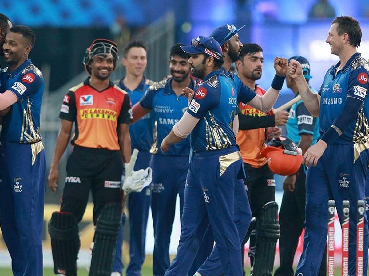 IPL-13: मुंबई इंडियंस ने सनराइजर्स हैदराबाद को 34 रन से हराया, टूर्नामेंट में दर्ज़ की अपनी तीसरी जीत