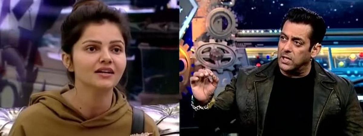 Bigg Boss - 14 : सलमान खान ने रुबीना दिलाइक को लगाई फटकार, कहा घर से निकलने को