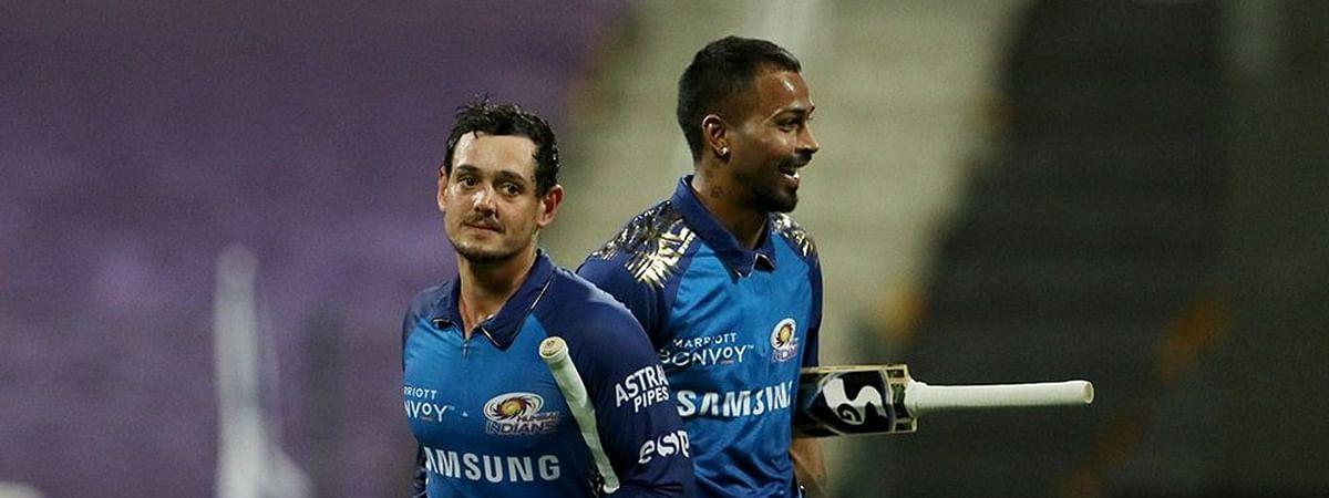 IPL-13: डी कॉक की पारी से जीता मुम्बई इंडियंस, कोलकाता नाइट राइडर्स को 8 विकेट से हराया