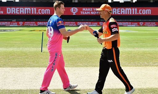 IPL-13: राजस्थान रॉयल्स और सनराइजर्स हैदराबाद आज आमने-सामने, दुबई में भिड़ेंगी दोनों टीमें