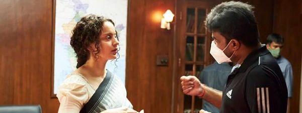 कंगना रनौत का फेवरेट प्लेस बना उनकी फिल्म 'थलाइवी' का सेट, डायरेक्टर के साथ शेयर किए Moments