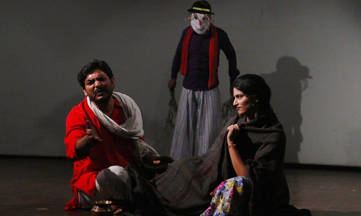 उत्तर प्रदेश: संगीत नाटक अकादमी में हुआ नाटक 'पंचलाइट' का मंचन