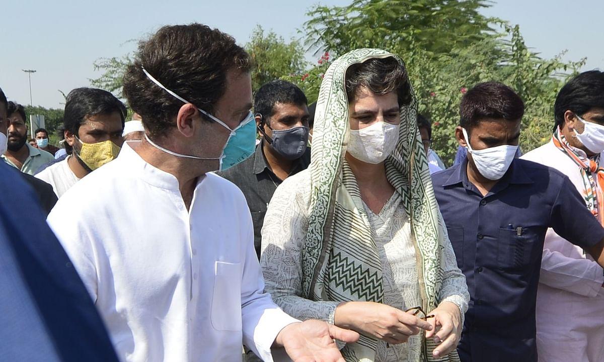 Noida: राहुल और प्रियंका गांधी के खिलाफ महामारी एक्ट के तहत मुकदम्मा दर्ज