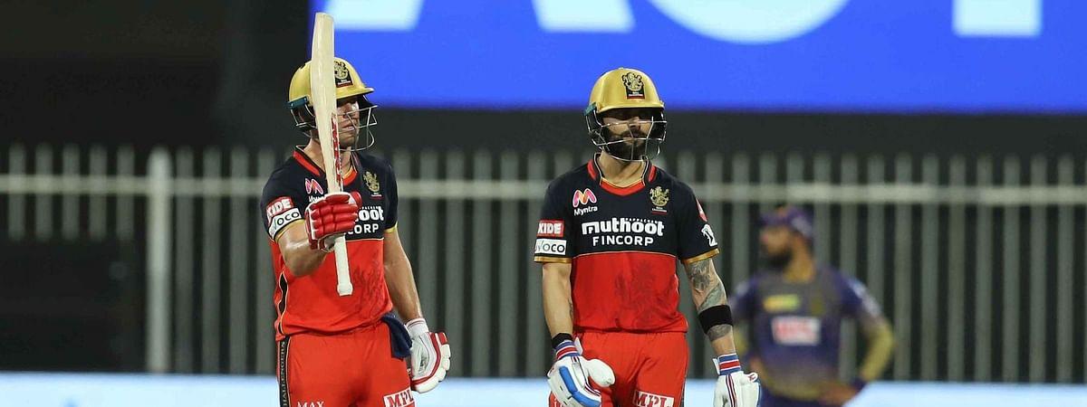 IPL-13: डिविलियर्स की धुआँधार पारी से जीता रॉयल चैलेंजर्स बैंगलोर, कोलकाता नाइट राइडर्स को 82 रनों से हराया