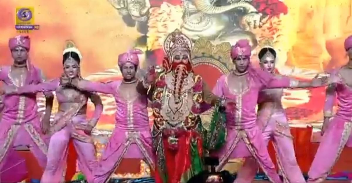 Ramleela in Ayodhya- TV Grab