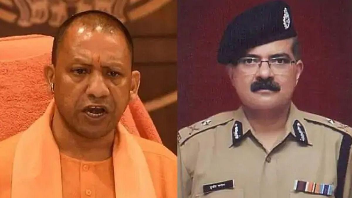 UP : CM योगी की बड़ी कार्रवाई, लखनऊ के पुलिस कमिश्नर सुजीत पाण्डेय को हटाया गया