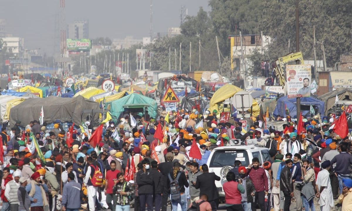 किसानों को मिली दिल्ली में प्रवेश की इजाजत, बुराड़ी के निरंकारी ग्राउंड में करेंगे प्रदर्शन