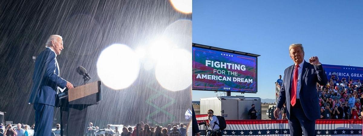 US Elections : जीत के करीब बाइडेन, मतगणना की शिकायत लेकर कोर्ट पहुंचे ट्रंप