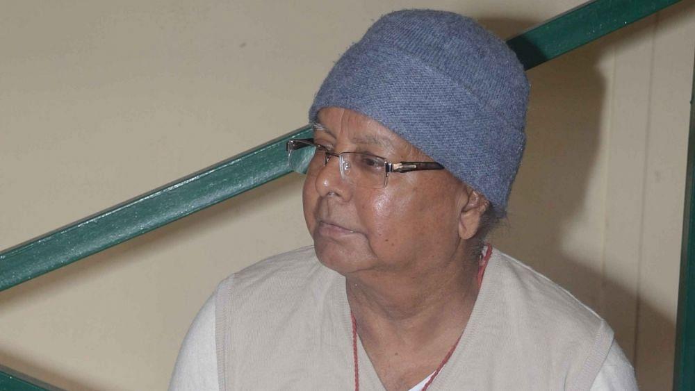 लालू प्रसाद के जेल से फोन करने के मामले में JDU ने मुख्य न्यायाधीश से हस्तक्षेप की मांग की