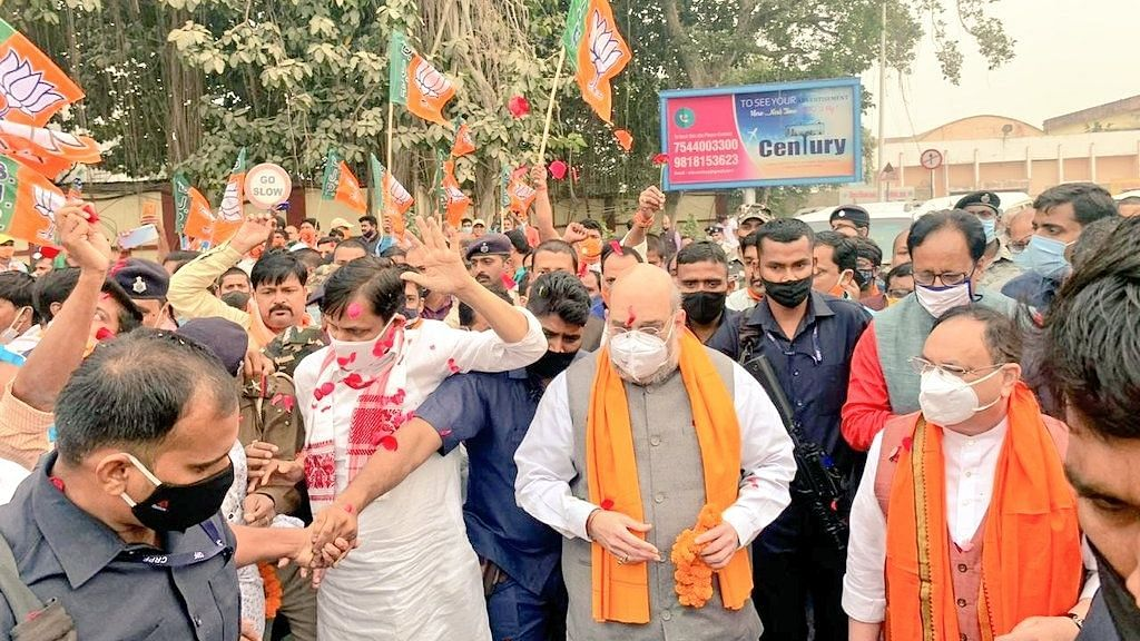 Amit Shah and J. P. Nadda