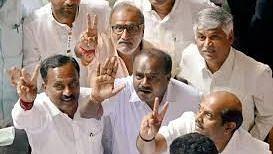 कर्नाटक उपचुनाव: कांग्रेस और जद-एस के गढ़ में भाजपा ने लगाई सेंध