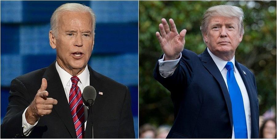 अमेरिकी राष्ट्रपति चुनाव: ट्रंप 7 और बाइडन 8 राज्यों में जीते
